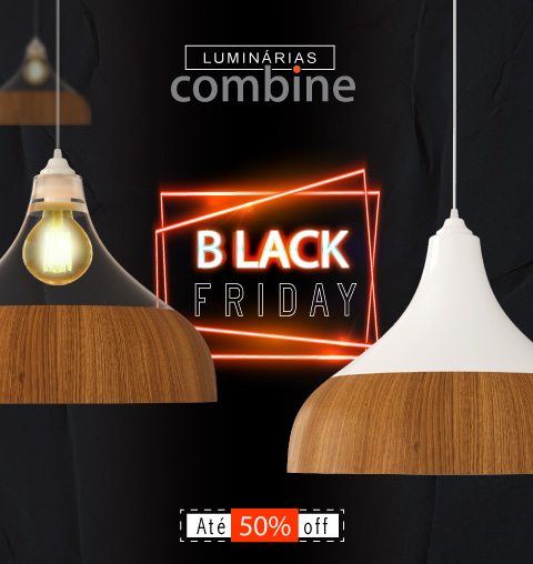 Black Friday Luminária Pendente Spirit Combine