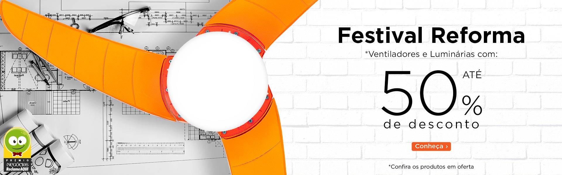 Festival Reforma - 20% de Desconto