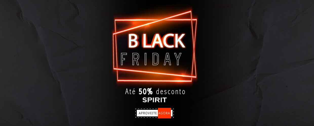 Black Friday Ventildor de Teto Spirit