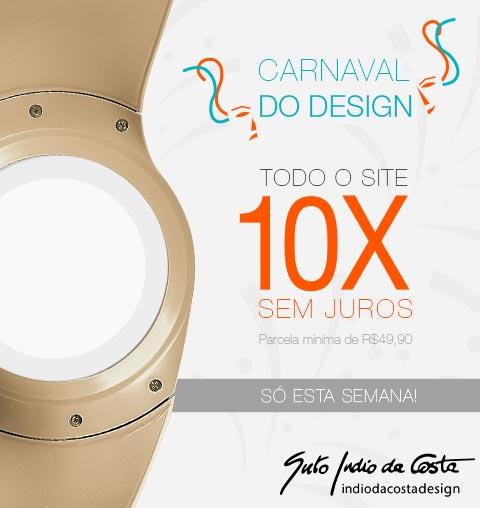 Carnaval do Design: Todo o Site em 10X Sem Juros!