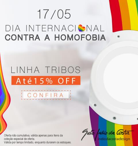 SPIRIT Contra a Homofobia - Linha Tribos 15% OFF