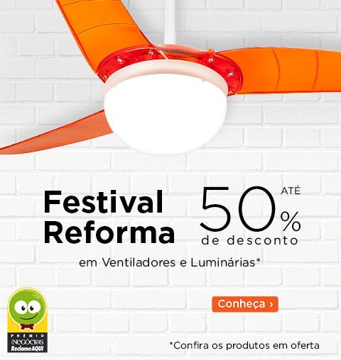 Festival Reforma - 20% Desconto