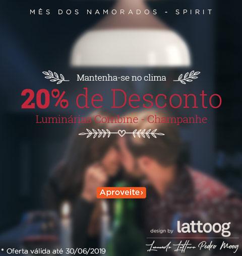 O Amor Ainda Está no Ar- Luminárias Champanhe com Desconto!