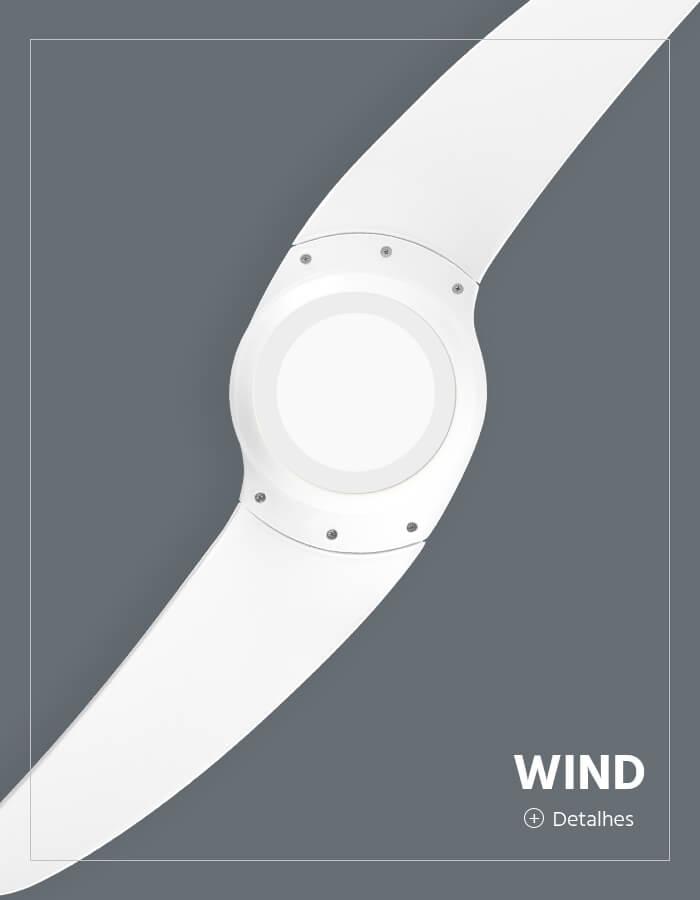 Ventilador de Teto Spirit linha Wind