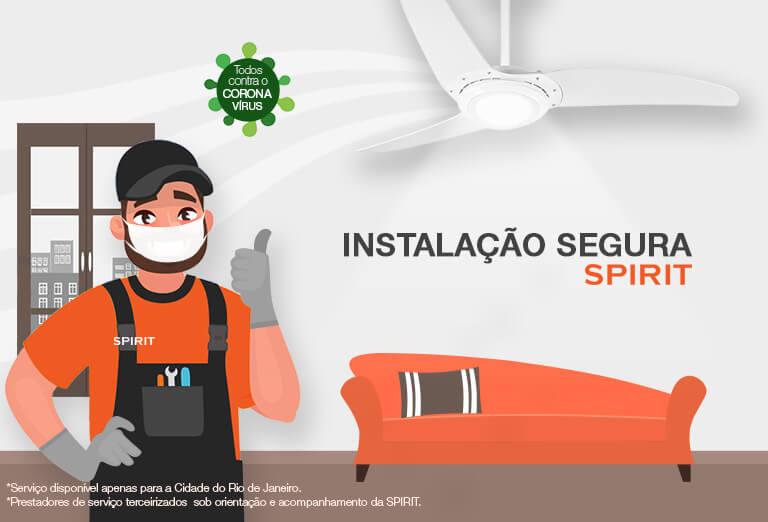Como instalar seu ventilador de teto de forma segura
